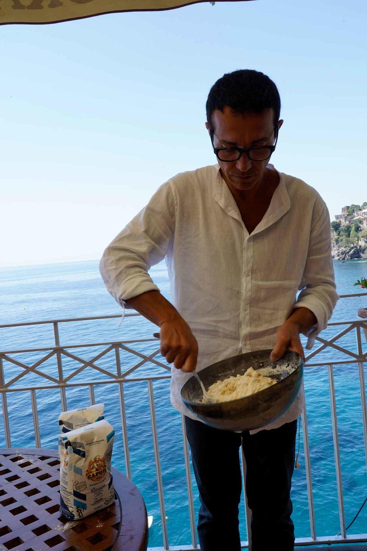 farina di Napoli per le montanare di Gino Sorbillo