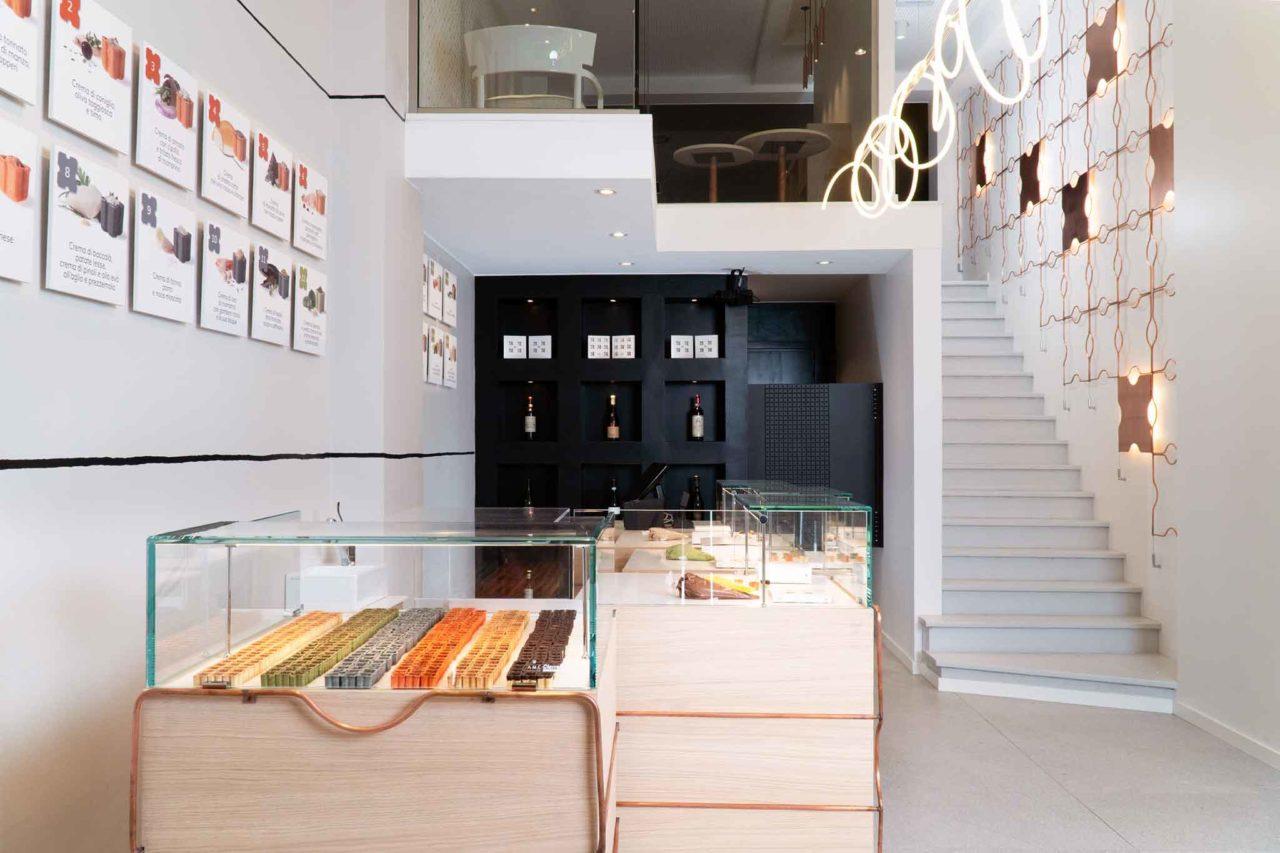 Food design: ini negozio interno
