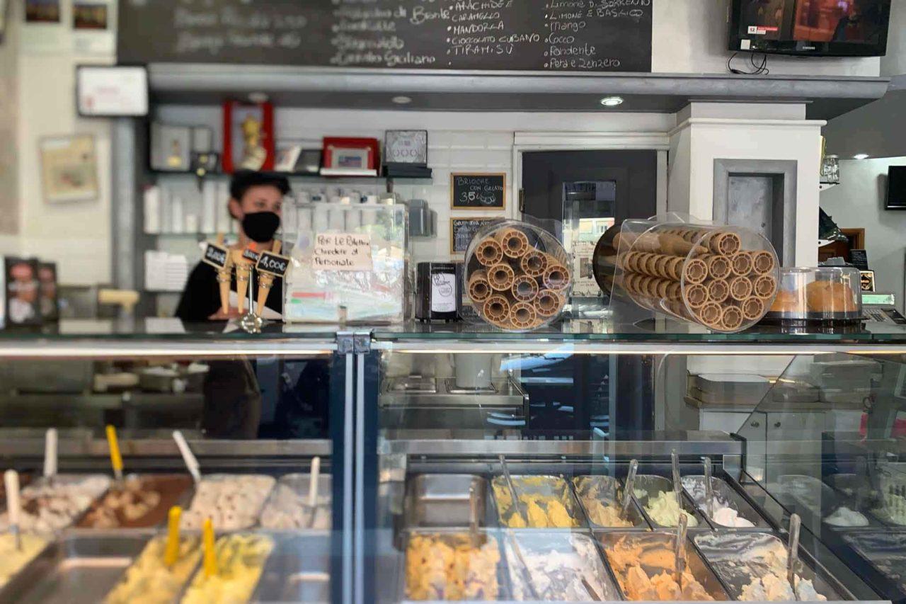 Il Cannolo Siciliano gelateria Roma banco gelati