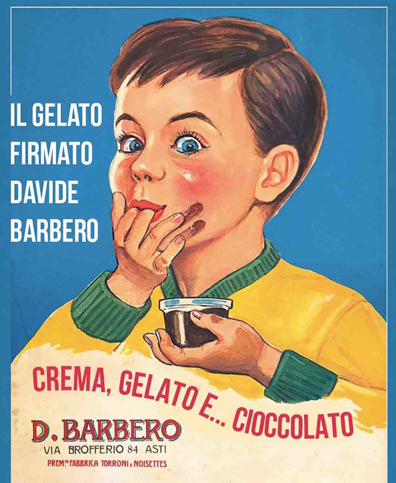 Il gelato firmato Davide Barbero vintage