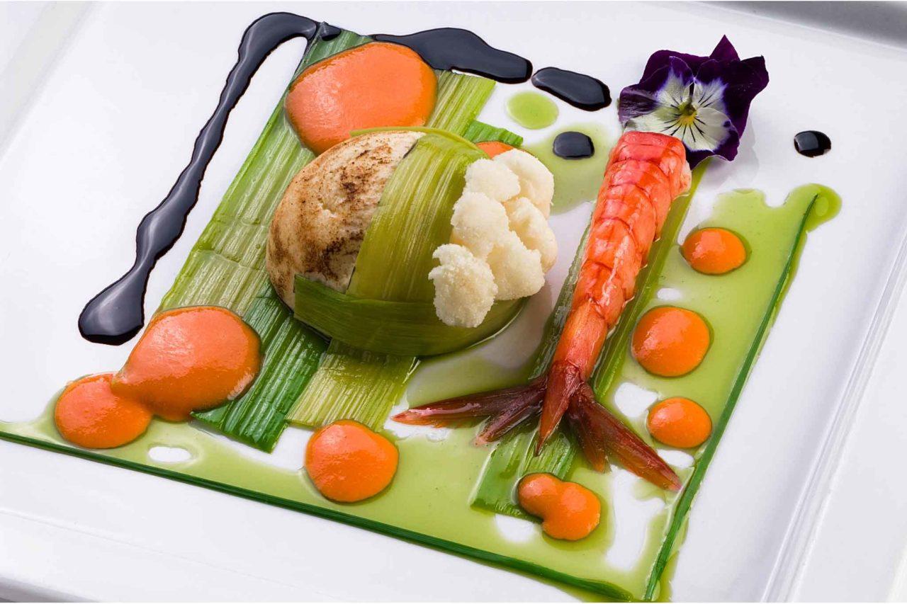 un piatto chef ivano congiu is molas cagliari