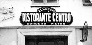 Pierin Cordero e la moglie Rita ristorante Il Centro