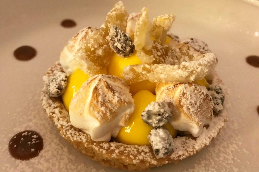 Qb DuePuntoZero lago di Garda dessert capperi sabbiati