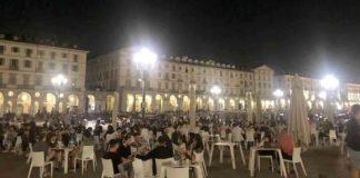 Torino Piazza Vittorio movida
