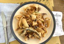 frittura di pesce pescheria Gallina Torino