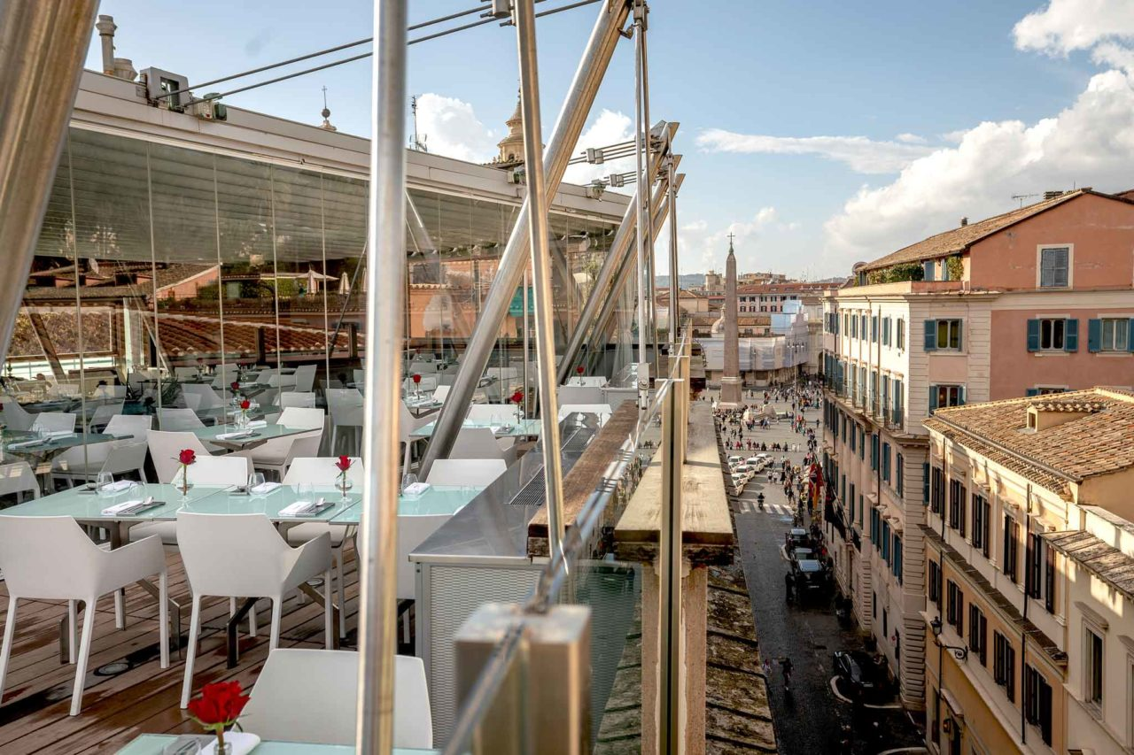 Hi-Res ristorante con vista panoramica