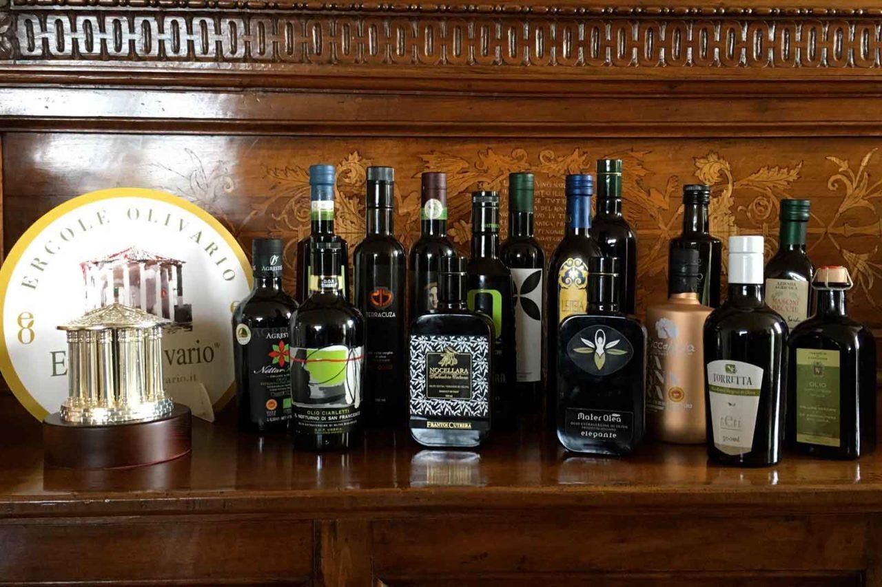 olio extravergine di oliva premiati 2020 Ercole Olivario