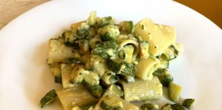 pasta carbonara zucchine ricetta