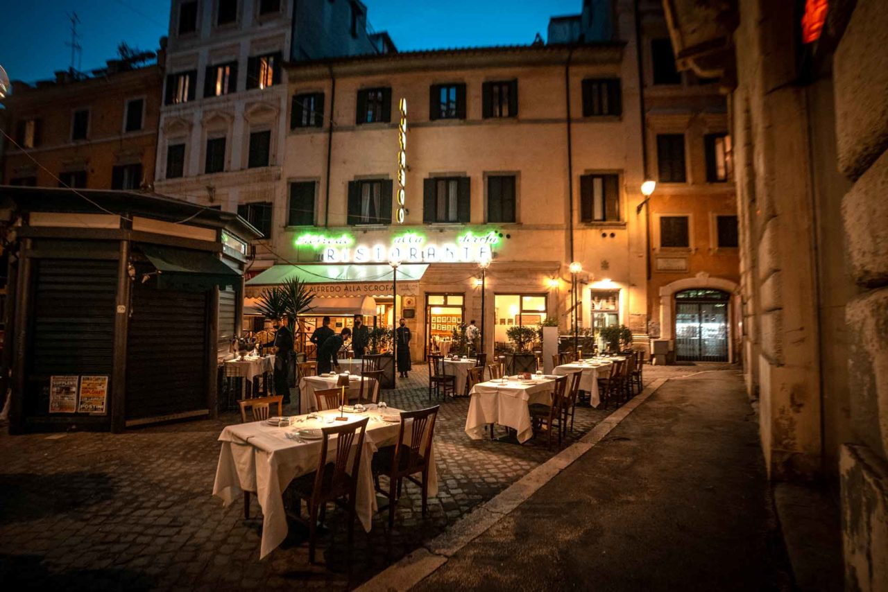 piazzetta Alfredo quest'estate al centro di Roma