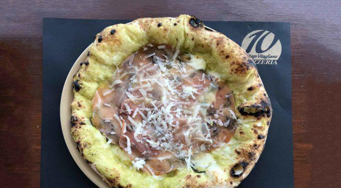 pizza alla Nerano Diego Vitagliano