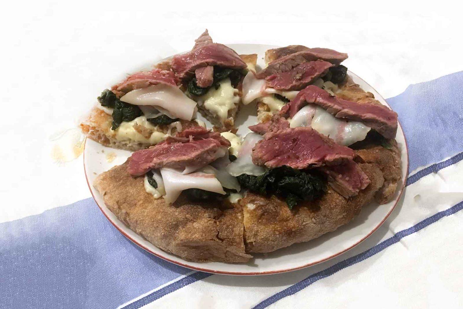 pizza i Tigli a casa Simone Padoan