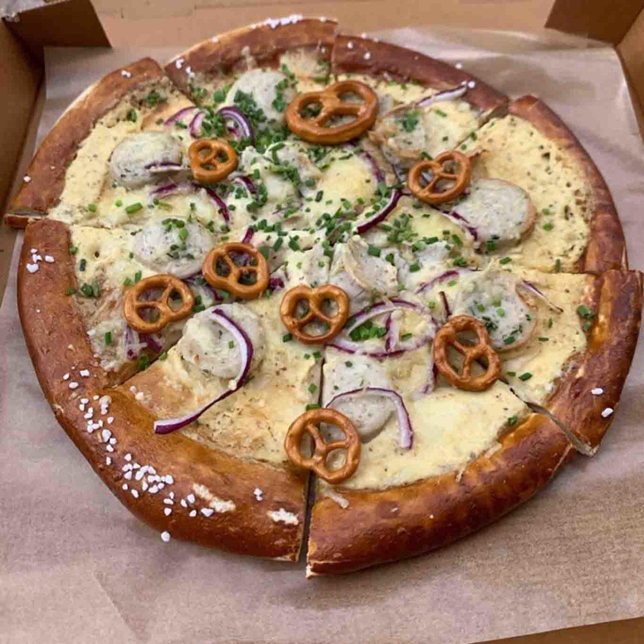 Brizza pizza bretzel
