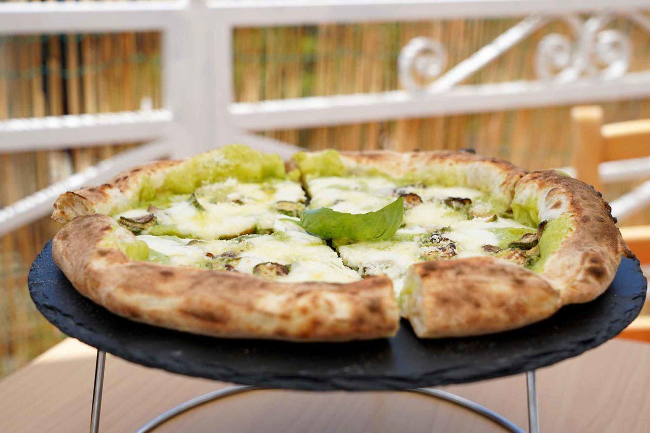 pizza nerano Giuseppe Pignalosa Le Parule Ercolano