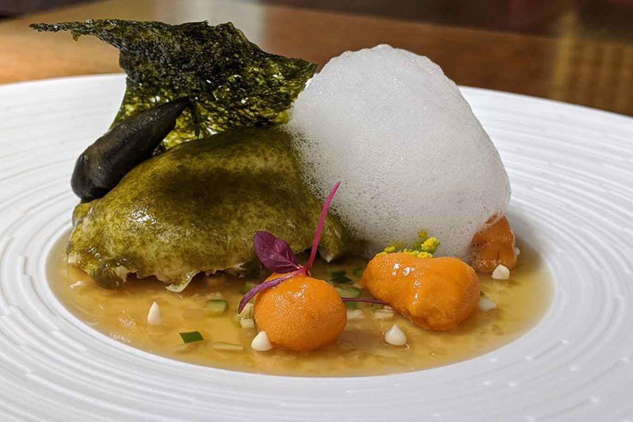 piatto del nuovo ristorante plaiga tokyo
