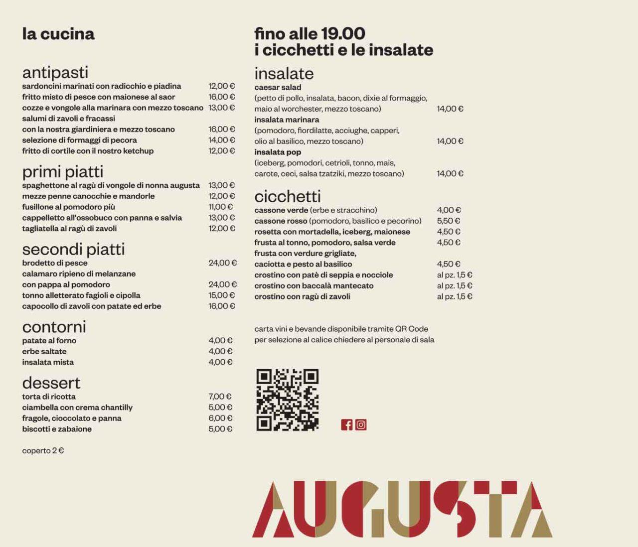 ristorante Rimini Augusta - Cucina e Cicchetto