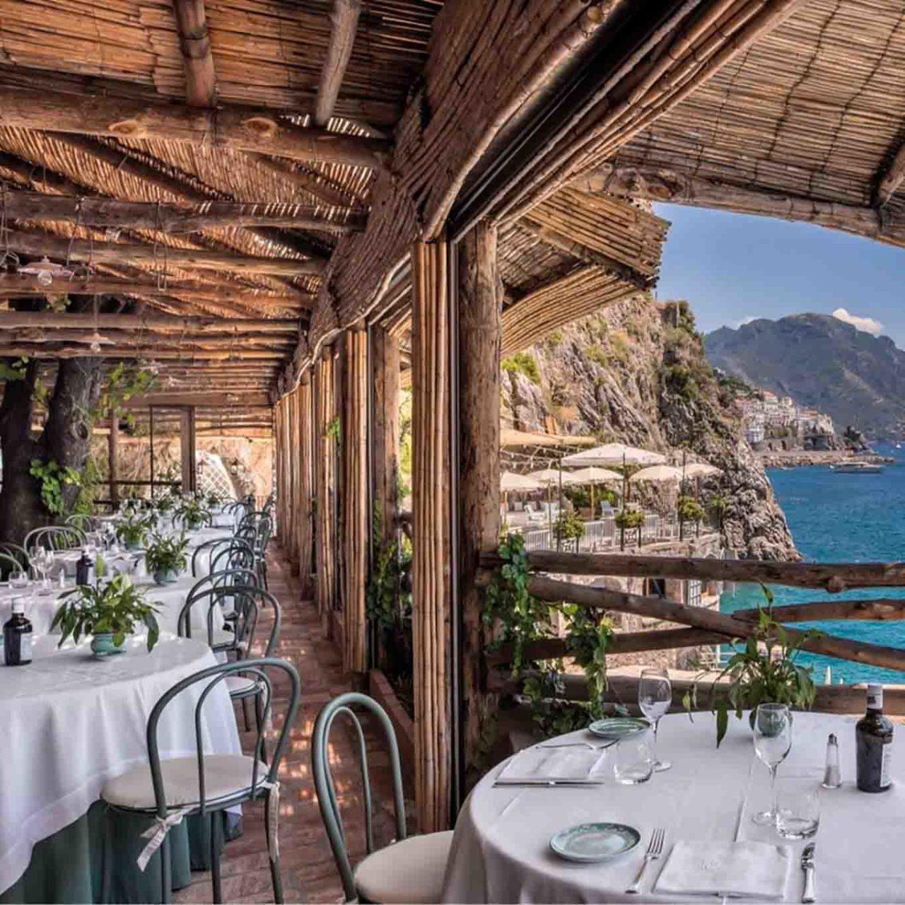 ristorante al mare Amalfi
