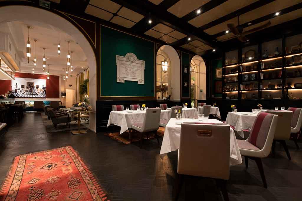 Sala da pranzo del ristorante Adelaide al Vilòn