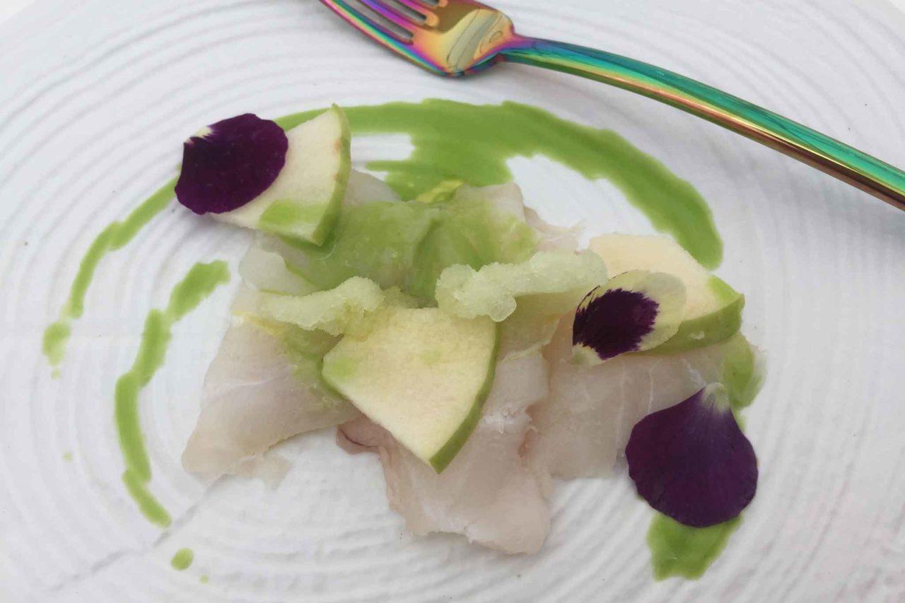 viva in piazza viviana varese carpaccio cernia mela verde