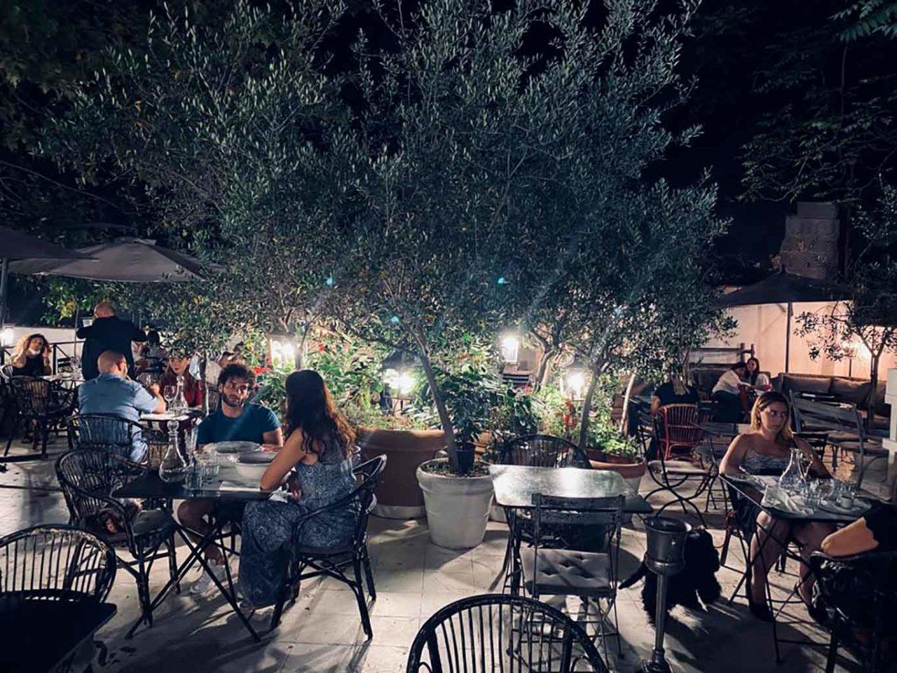 Angelina ristorante dehors di Roma