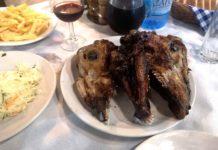 Estia Restaurant Plataria Grecia testa agnello