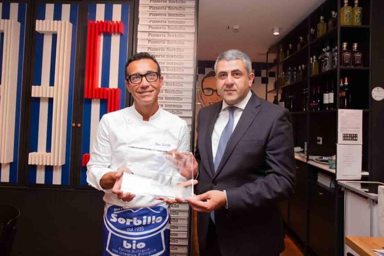 Gino Sorbillo ambasciatore della pizza