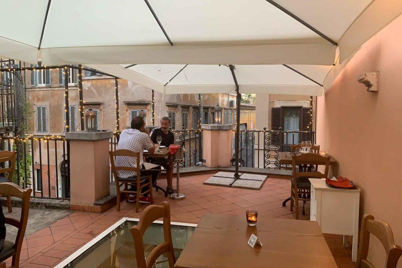 Giulia Restaurant Roma terrazza dehors