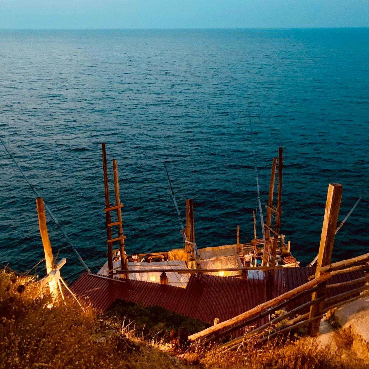 Il Trabucco di Punta Manaccora detto di Zaiana