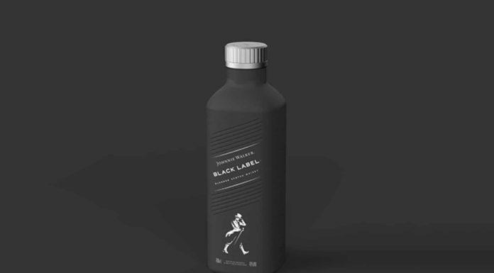 Johnnie Walker bottiglia di carta