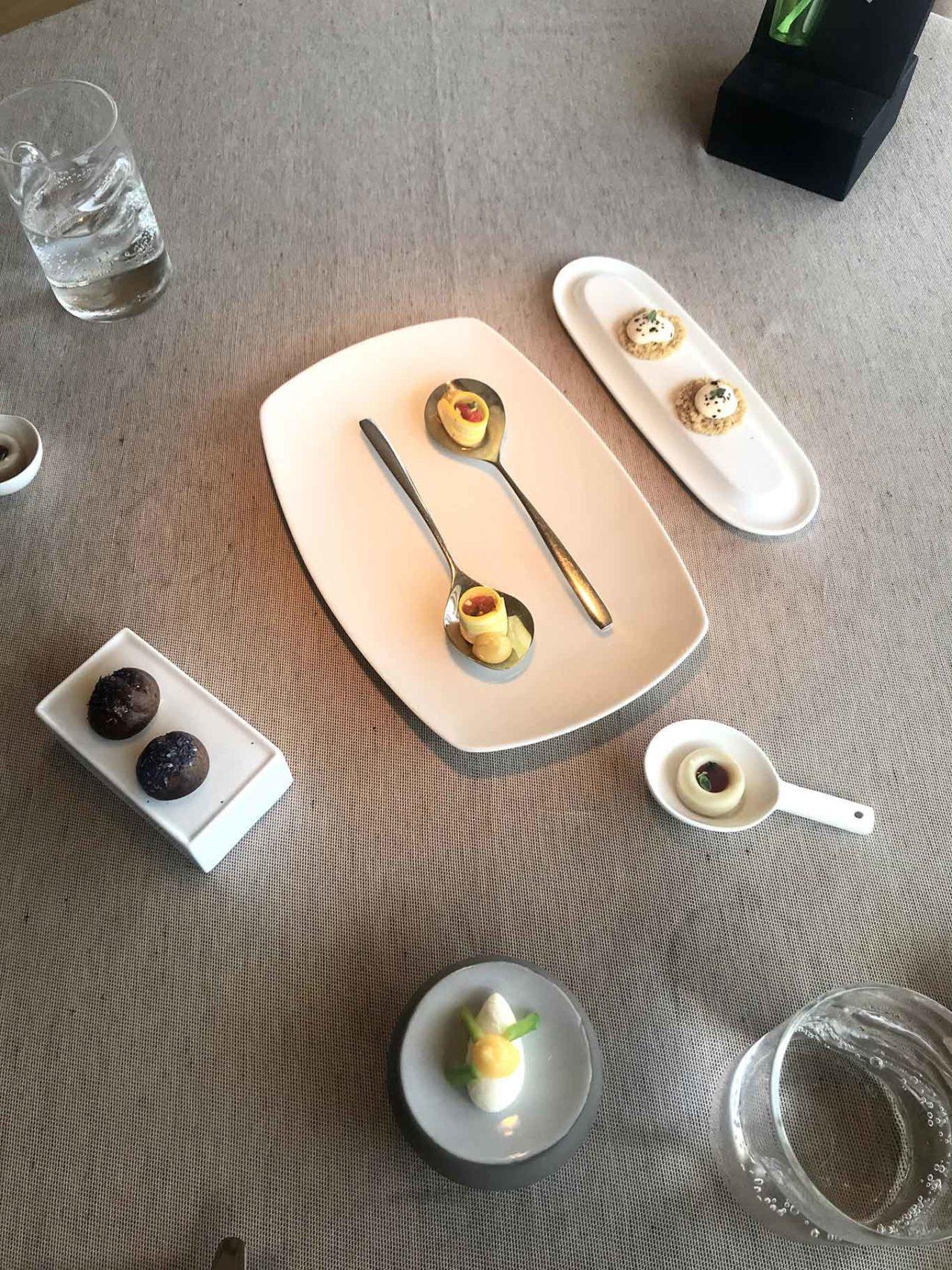 La Peca ristorante a Lonigo amuse bouche
