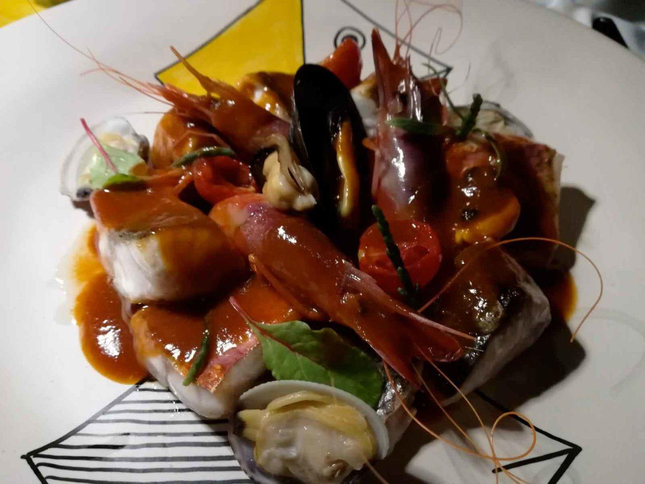 La Zagara Anacapri Casa Mariantonia zuppa di pesce