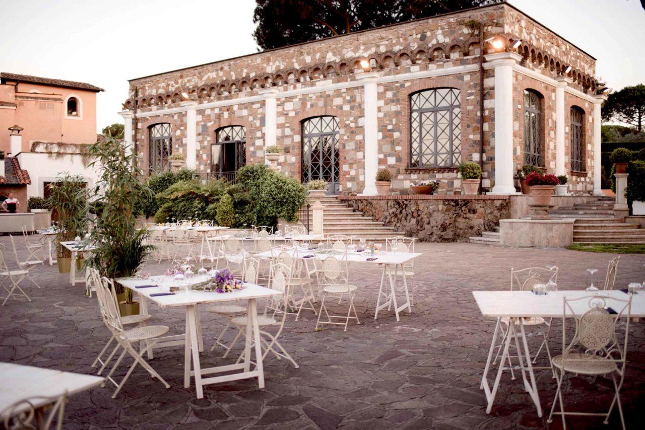 villa dei cesari diventa il ristorante Luce
