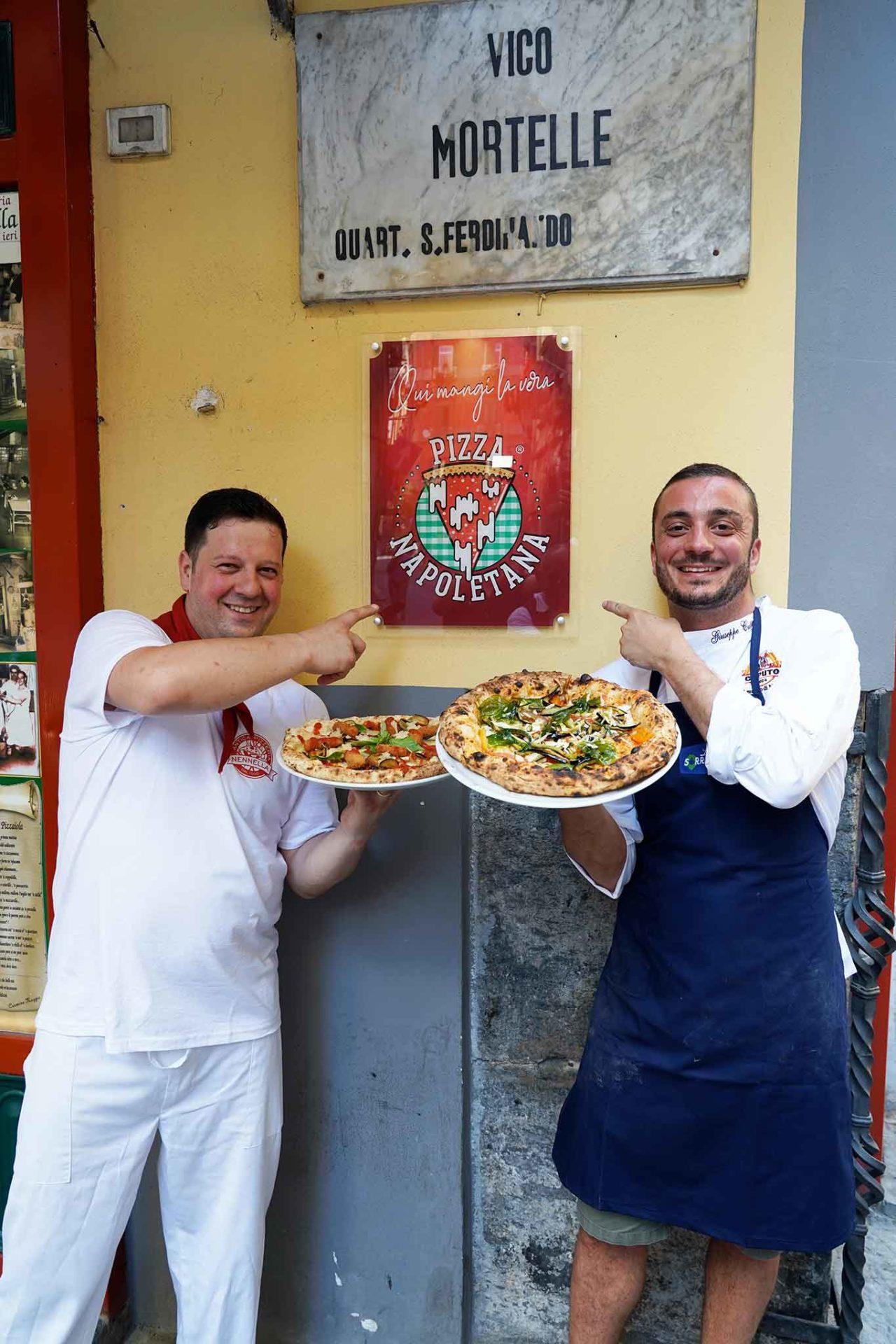 Nennella e Cutraro pizza napoletana