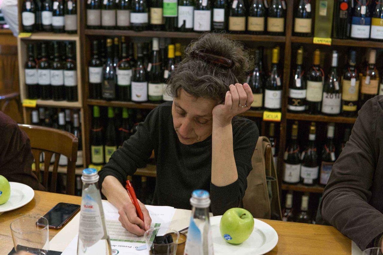 Daniela Ferrando giurato al premio orciolo d'oro olio in Umbria