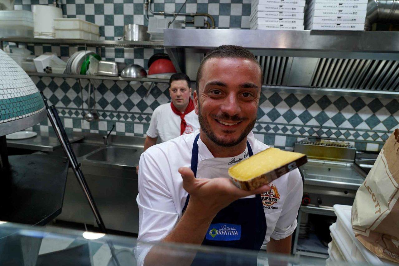 Peppe Cutraro formaggio Comte