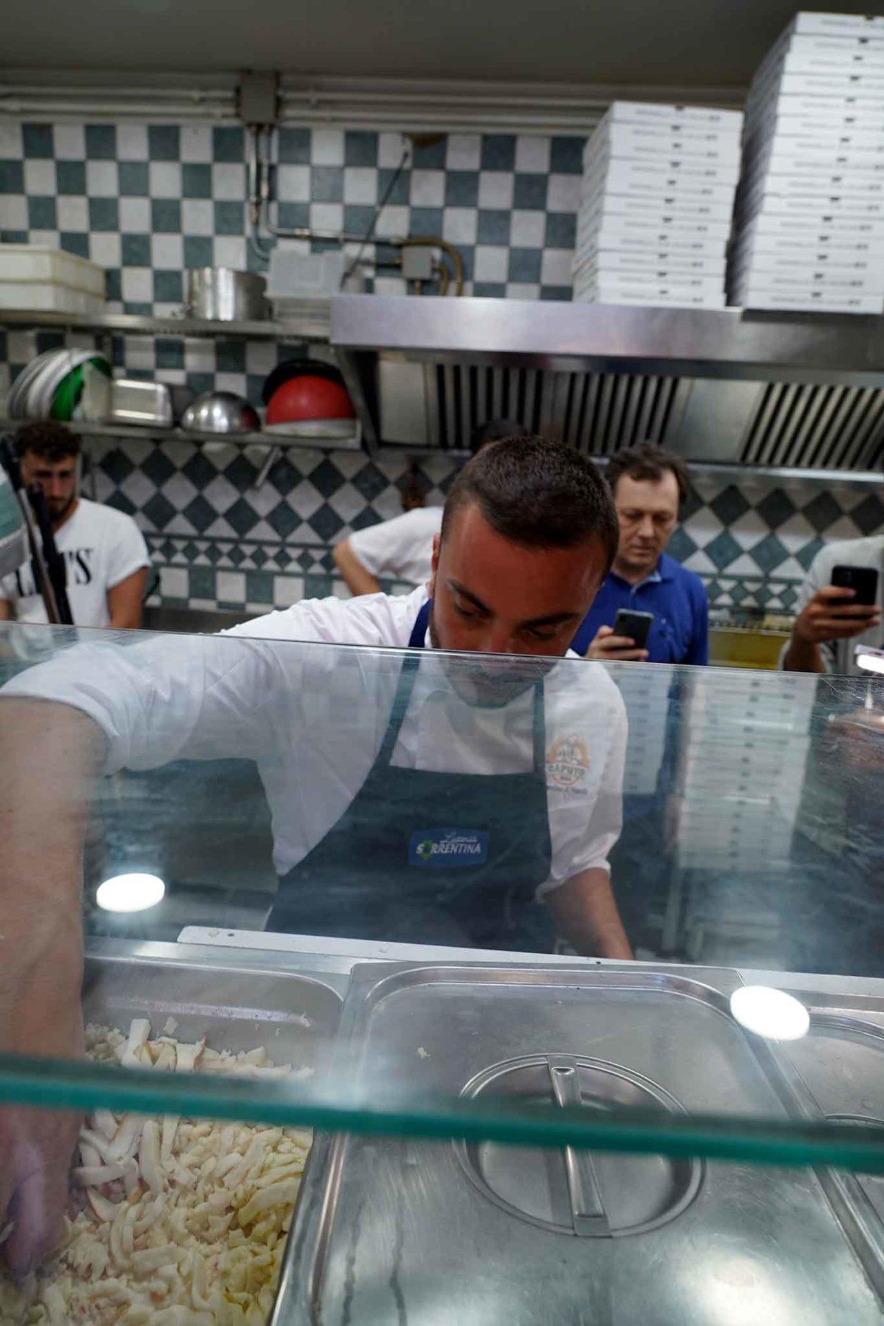 Peppe Cutraro prende provola
