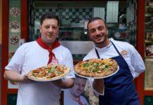 Pizza Pasquale Vitiello Nennella e Peppe Cutraro
