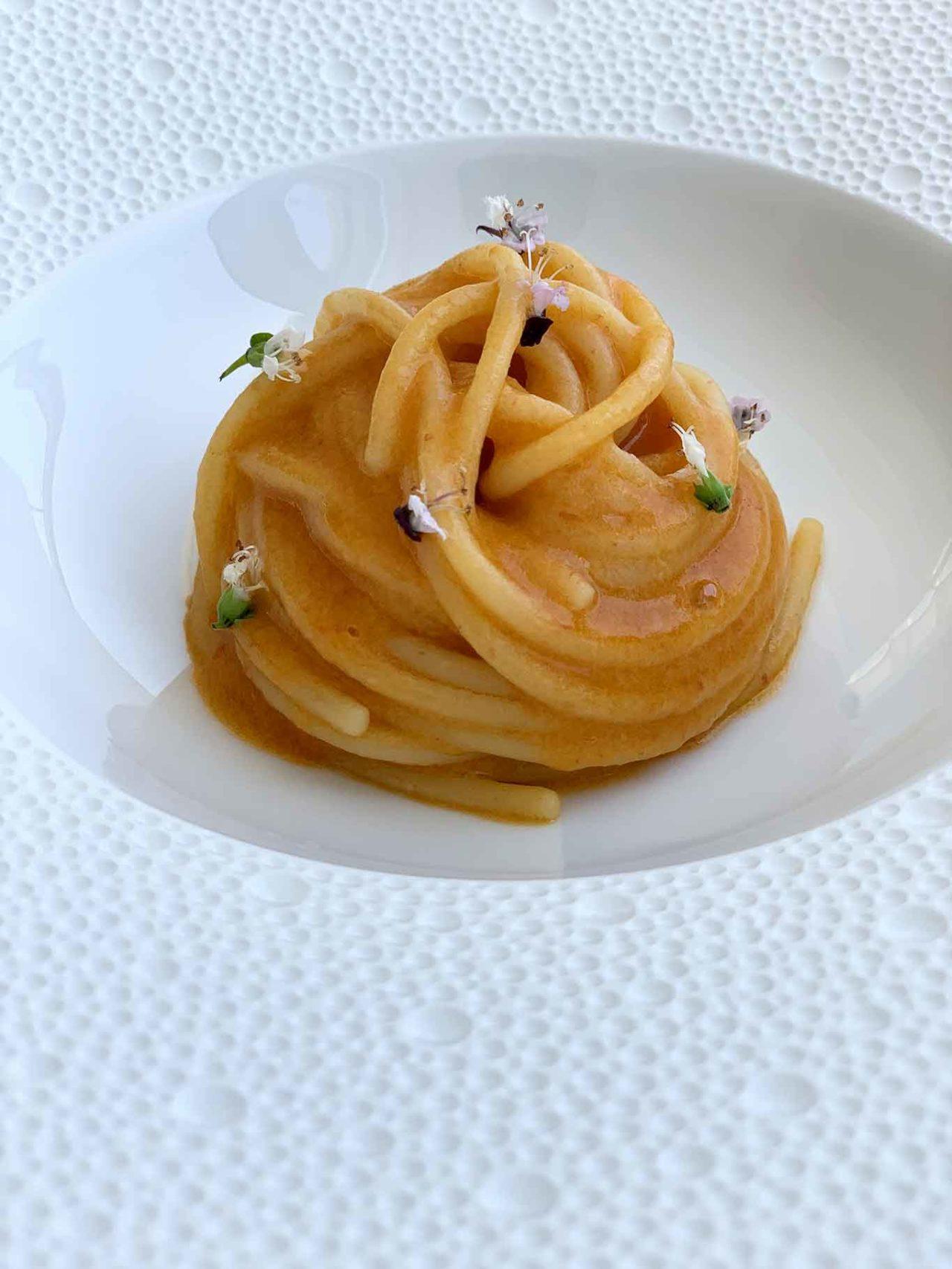 spaghetto al pomo d'oro Quattro Passi ristorante Nerano