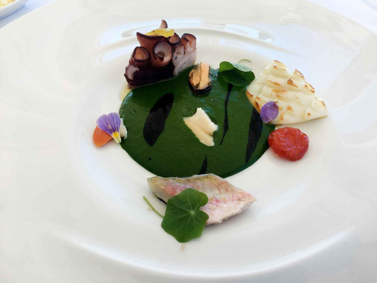 Relais Blu ristorante Massalubrense insalata di mare