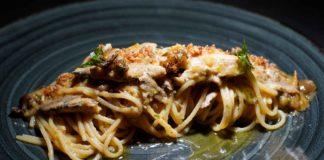 Suscettibile ristorante Pioppi Cilento spaghetti puttanesca di mare