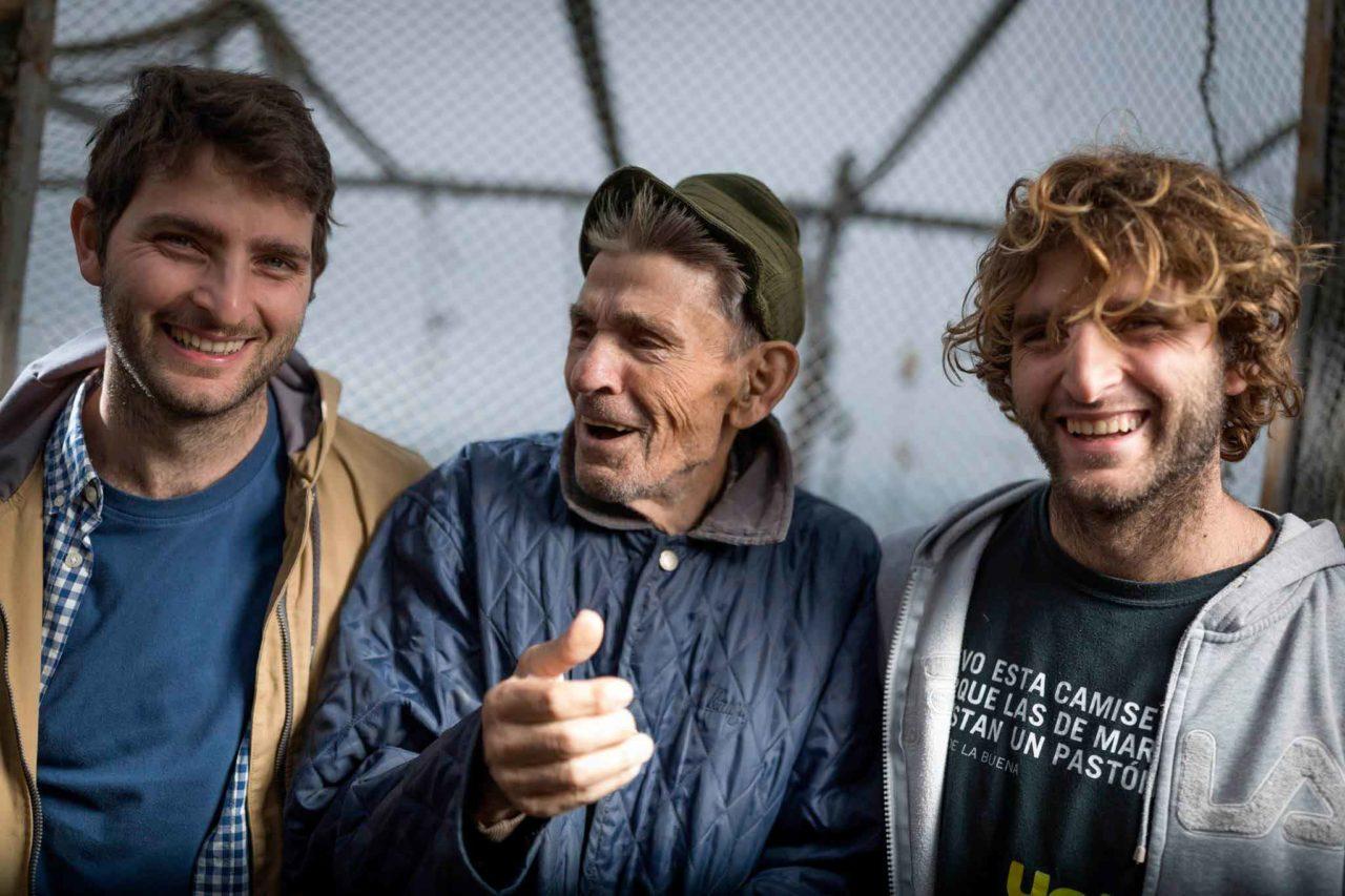 Trabucchi sul Gargano Domenico e Vincenzo con il nonno Mimi