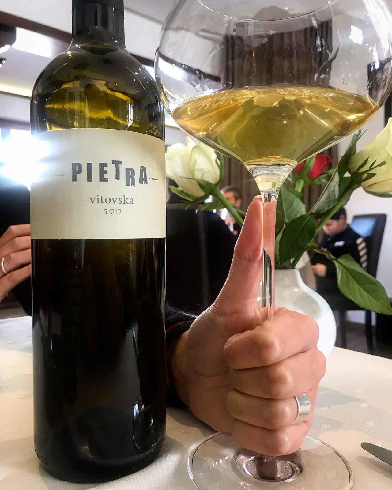 vino vitovska Pietra Slovenia
