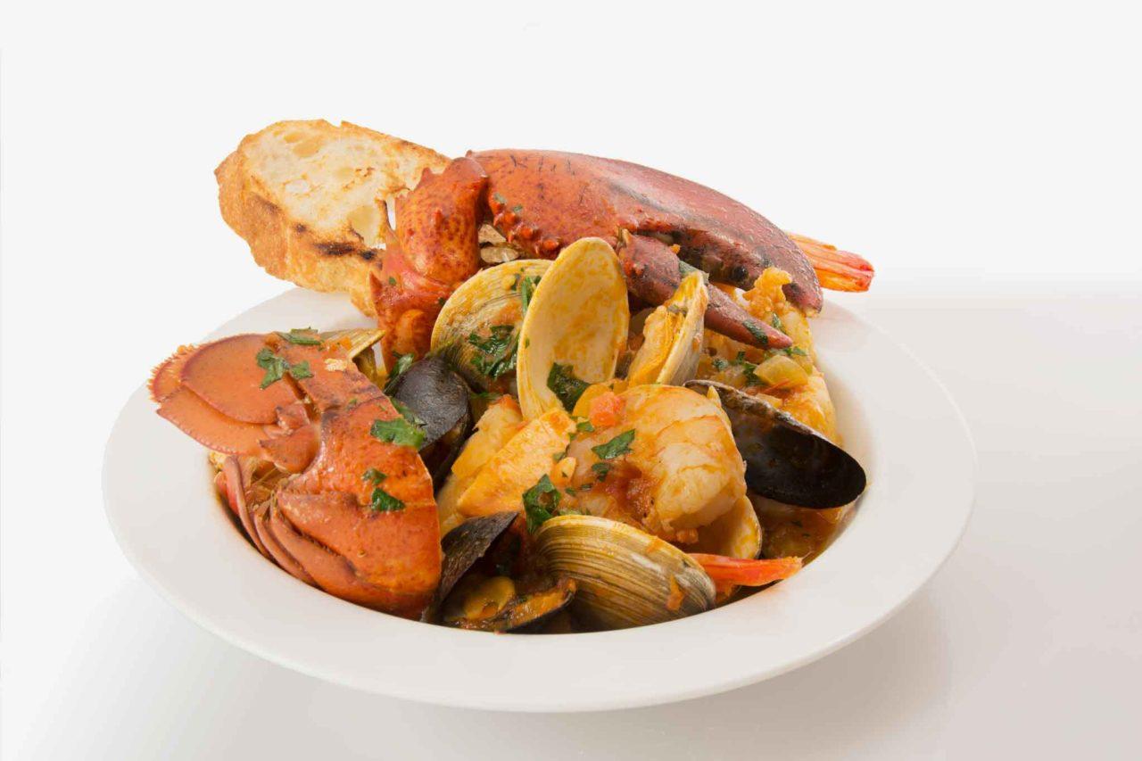 ristorante di mare a Sabaudia