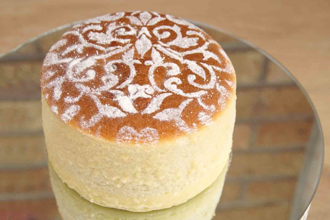 cheese cake giapponese cotton cake