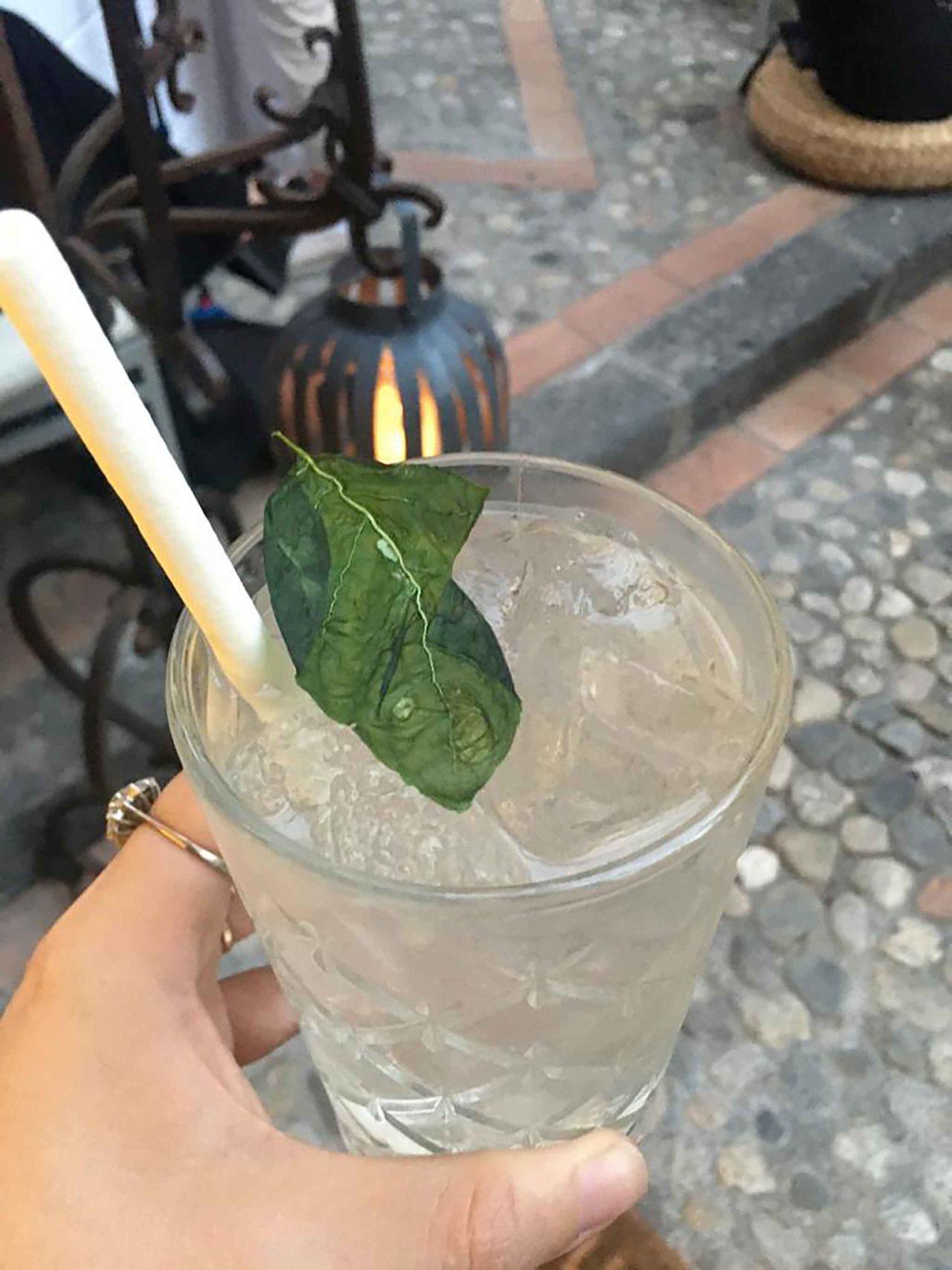 cocktail a Taormina