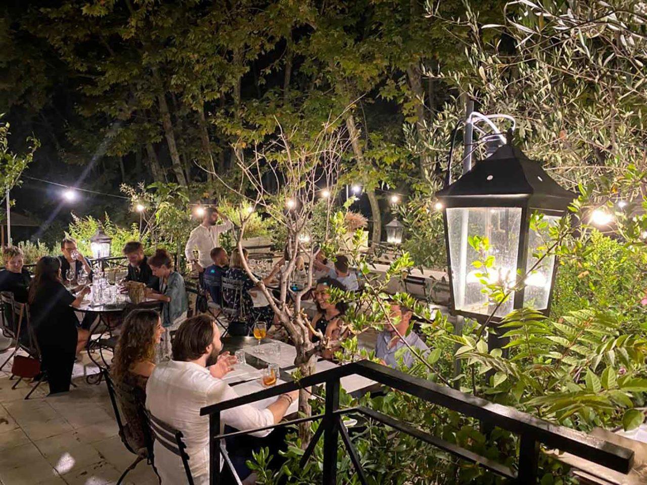 dehors ristorante Angelina Roma