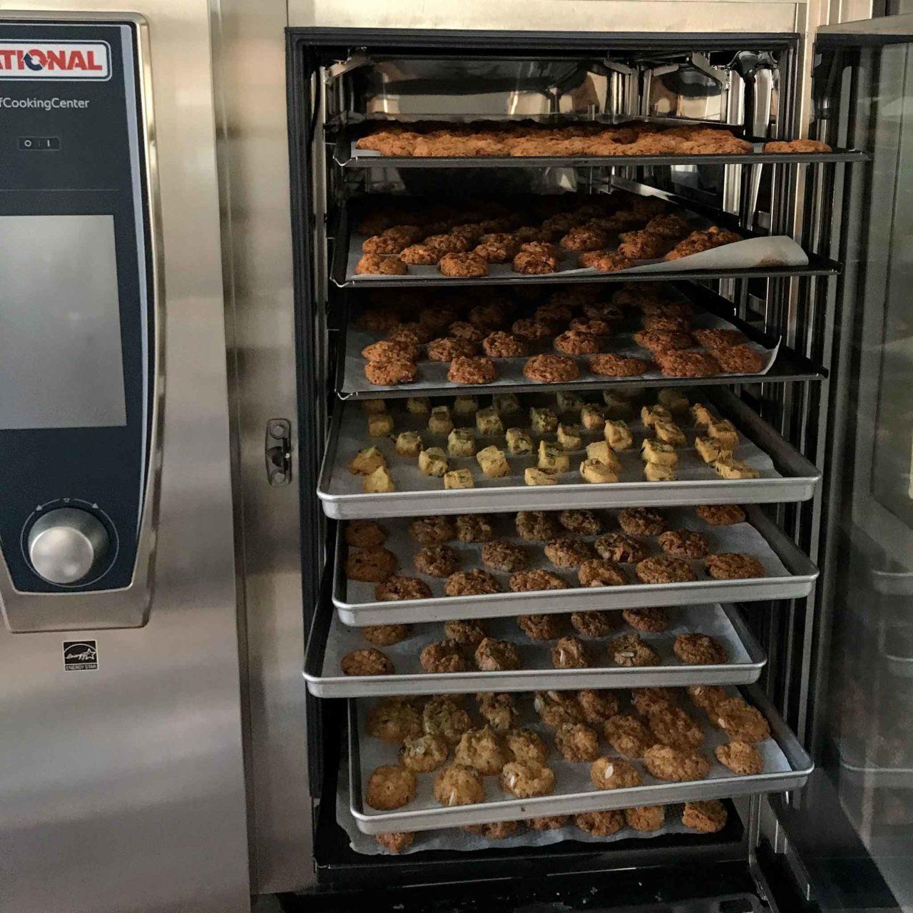 biscotti nel forno