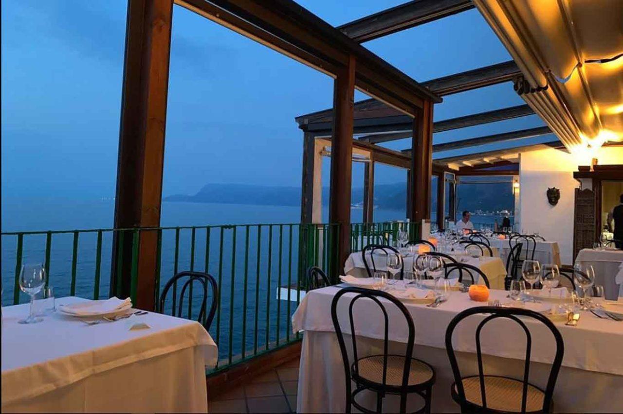 ristorante di mare a Scilla in Calabria