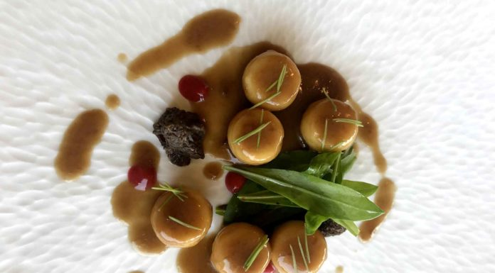 gnocchi La Peca ristorante a Lonigo 2 stelle Michelin