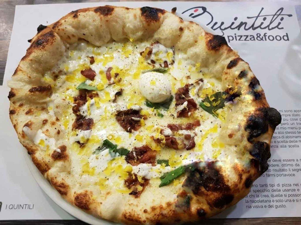marco quintili pizza carbonara