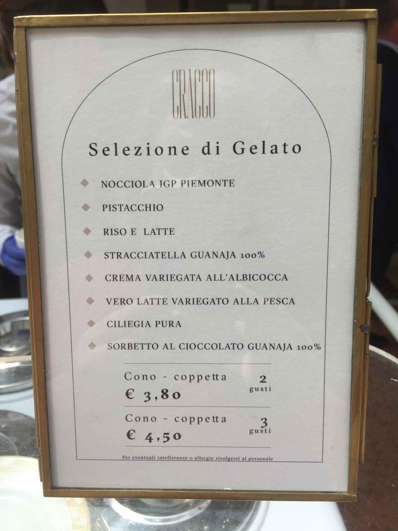 i gelati di Carlo Cracco